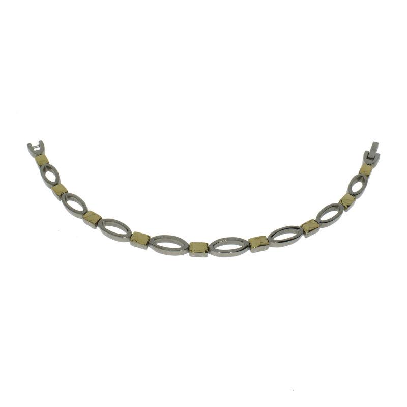 CEM Armband Titan/teilweise IP Gelbgold 4-106888-001