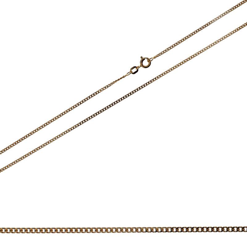 Kettler Flachpanzerkette 925/- roségold 42 cm 006/66/201.1150