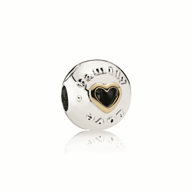 PANDORA Clip 792110 Family and Love