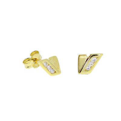 Kettler Ohrstecker 925/- vergoldet 53002828