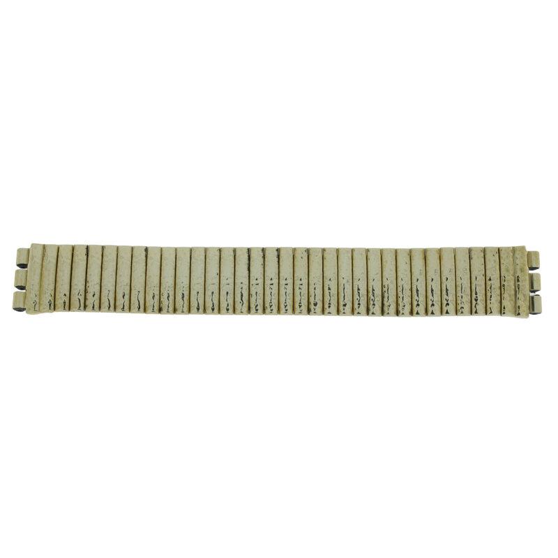 Swatch Zugband IP gelbgold Hammerschlag 17 mm 13682