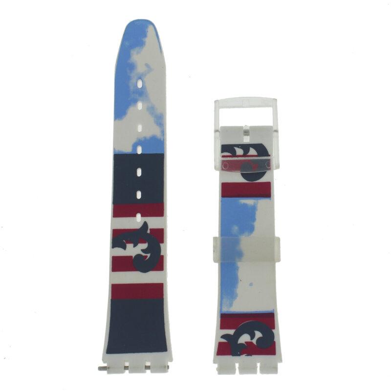 Ersatzarmband Kunststoff 17 mm