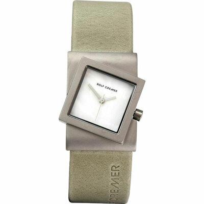 Rolf Cremer Turn 492362 Unisex Armbanduhr Beige