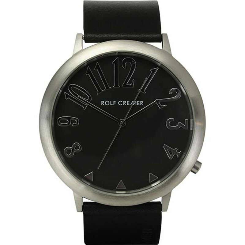 Rolf Cremer Jumbo II 495103 Unisex Armbanduhr schwarz