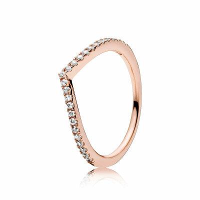 PANDORA ROSE Ring 186316CZ Funkelnder Wunsch