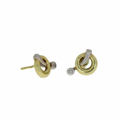 Kettler Brillantstecker 585/- Gelbgold 14077