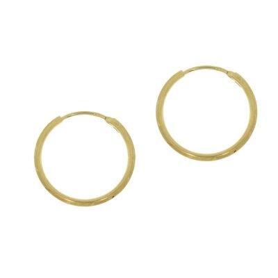 Kettler Rohrcreolen Ø 19 mm 333/- Gelbgold 14173