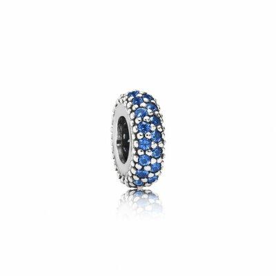 PANDORA Charm Pavé-Inspiration blau 791359NCB