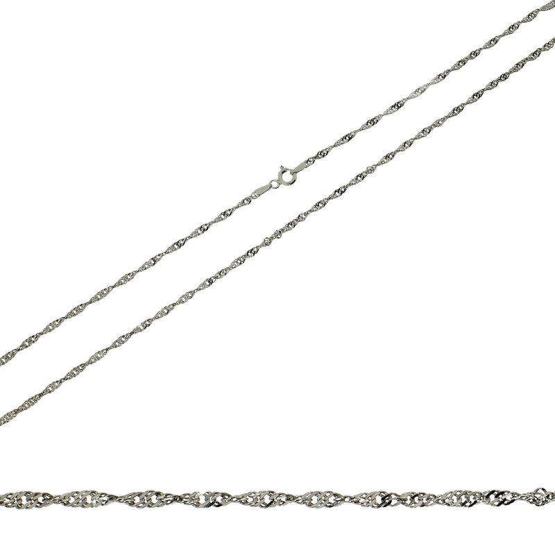 Kettler Singapurkette 925 Silber rhod. 20228465 42cm