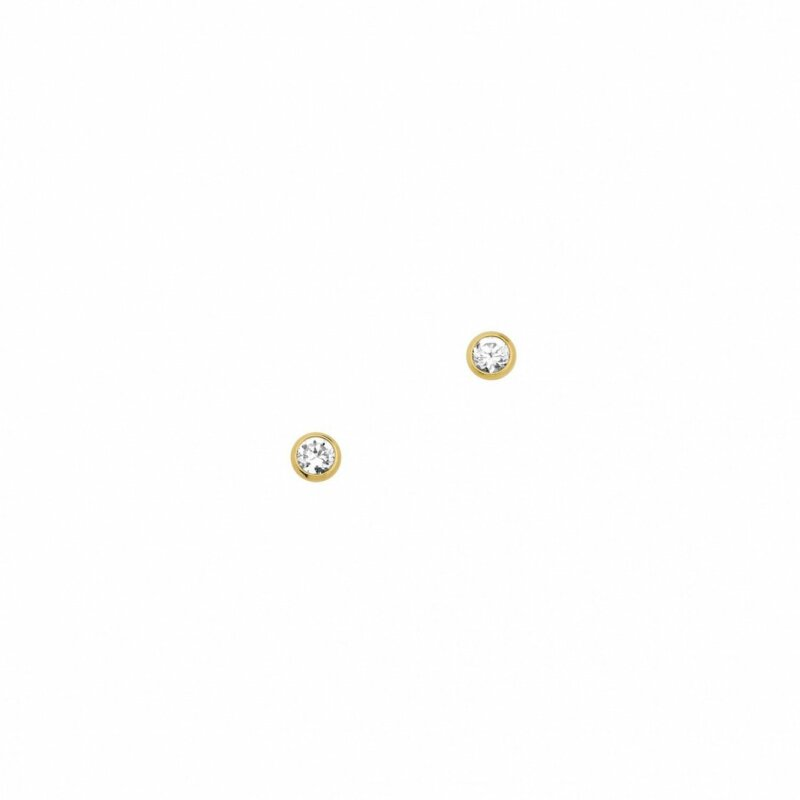 Kettler Ohrstecker 333/- Gold mit Zirkonia 03002454