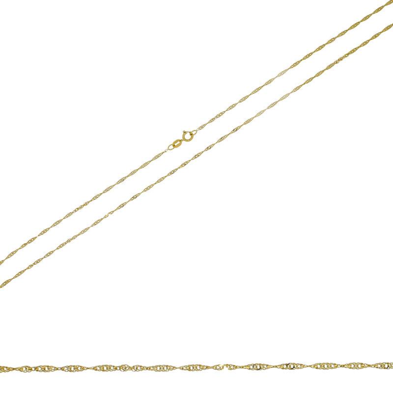Singapurkette 333/- GG 42 cm 14651