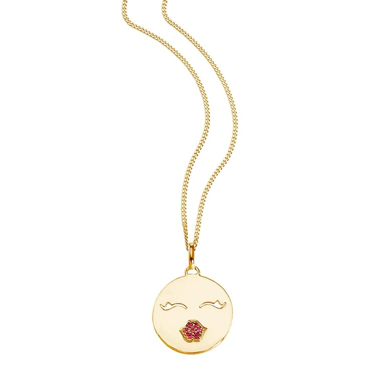 SO COSI Kette Happy Faces - Kiss Kiss Bang Bang NGP-SF003...