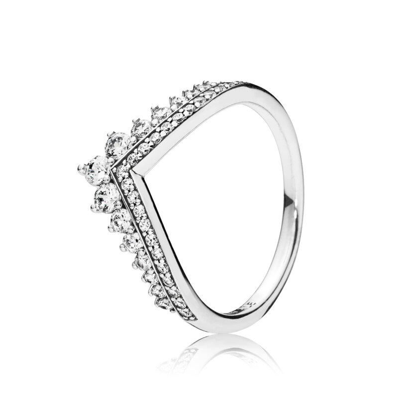 PANDORA Ring 197736CZ Princess Wish