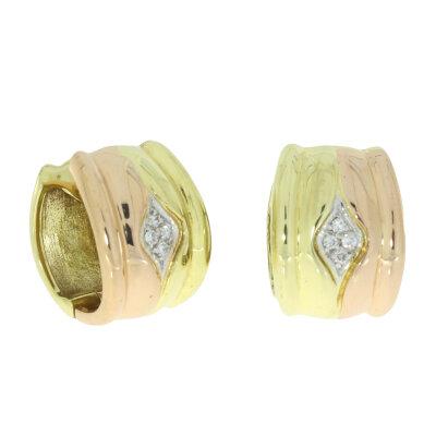 Kettler Brillant-Creolen 012 ct. 585/- Gelbgold/Rotgold 8040