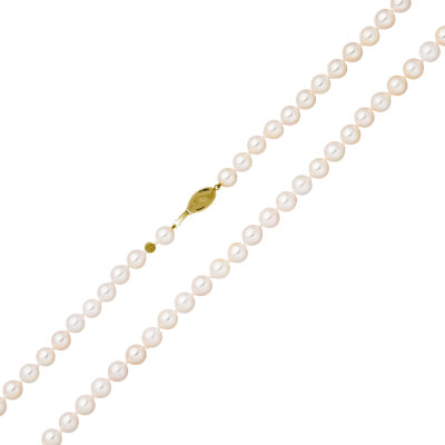 Schoeffel Akoya Perlenkette 585/- GG 49 cm 14755