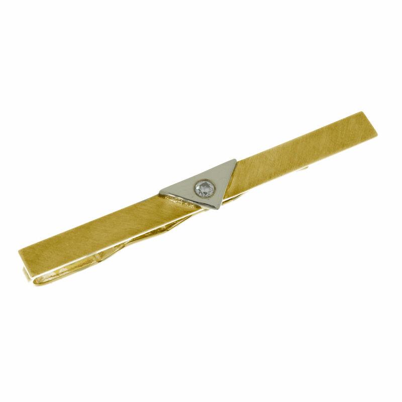 Kettler Krawattenklammer 333/- Gelbgold 14860
