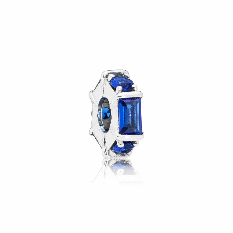 PANDORA Zwischenelement Ice Sculpture blau797529NSBL