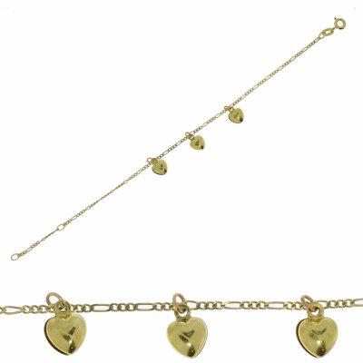 Kettler Goldarmband in 333/- Gelbgold 9900190000 Herz