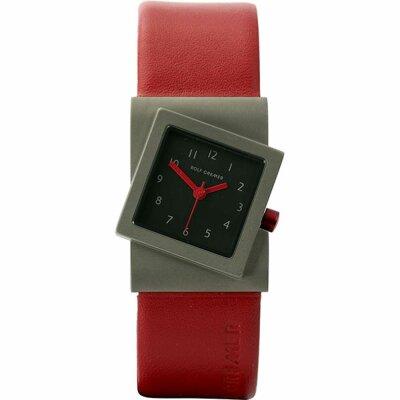 Rolf Cremer Turn 492366 Unisex Armbanduhr Rot