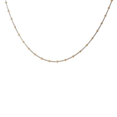 Kettler Halskette Kugel 585/-GG/WG 40 cm 444037