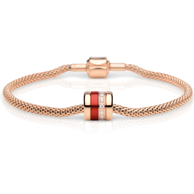 Bering Charm-Set rosé gold Careful 613-30-X0 + Soulmate-2