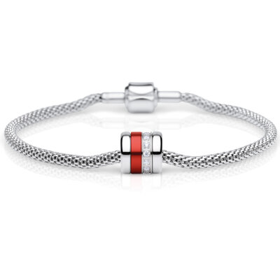 Bering Charm-Set silber Reliable 613-10-X0 + Soulmate-1