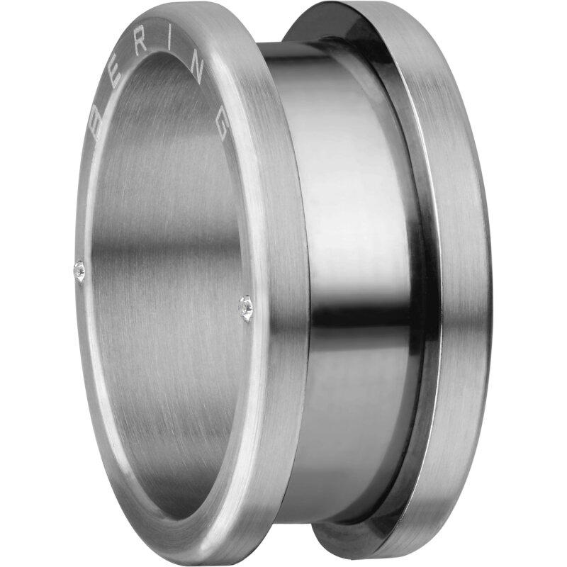 Bering Unisex Außenring 520-11-X4 Edelstahl silber matt