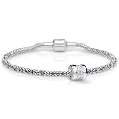 Bering Charm-Set silber 613-10-X0 + Love-2