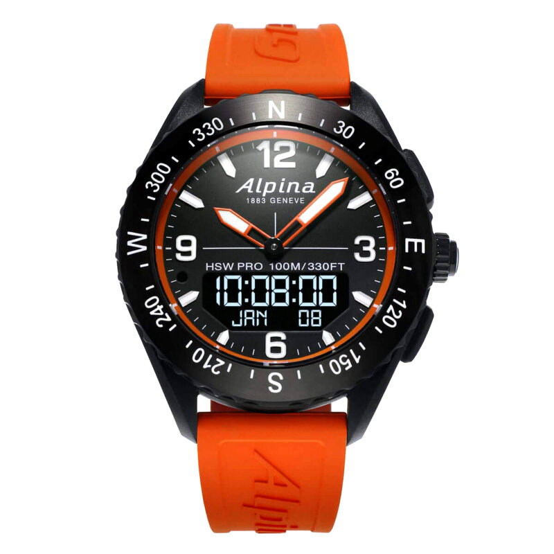 Alpina HOROLOGICAL SMARTWATCH AlpinerX AL-283LBO5AQ6