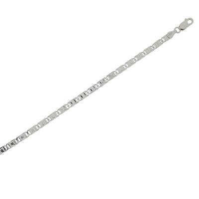 Kettler Armband Fantasie 925/- rhodiniert 21 cm...