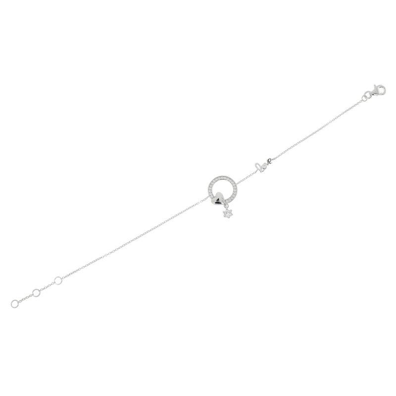 CEM Armband 925/- Sterlingsilber rhodiniert Zirk. PR9333B