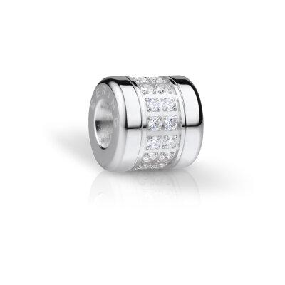 Bering Charm-Set IP schwarz 613-60-X0 + Love-2