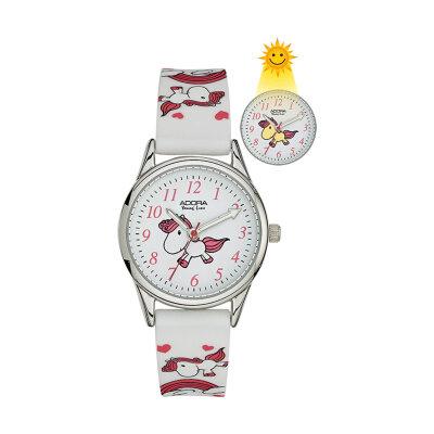 Adora Youngline Kinderuhr AY4396 weiß/pink