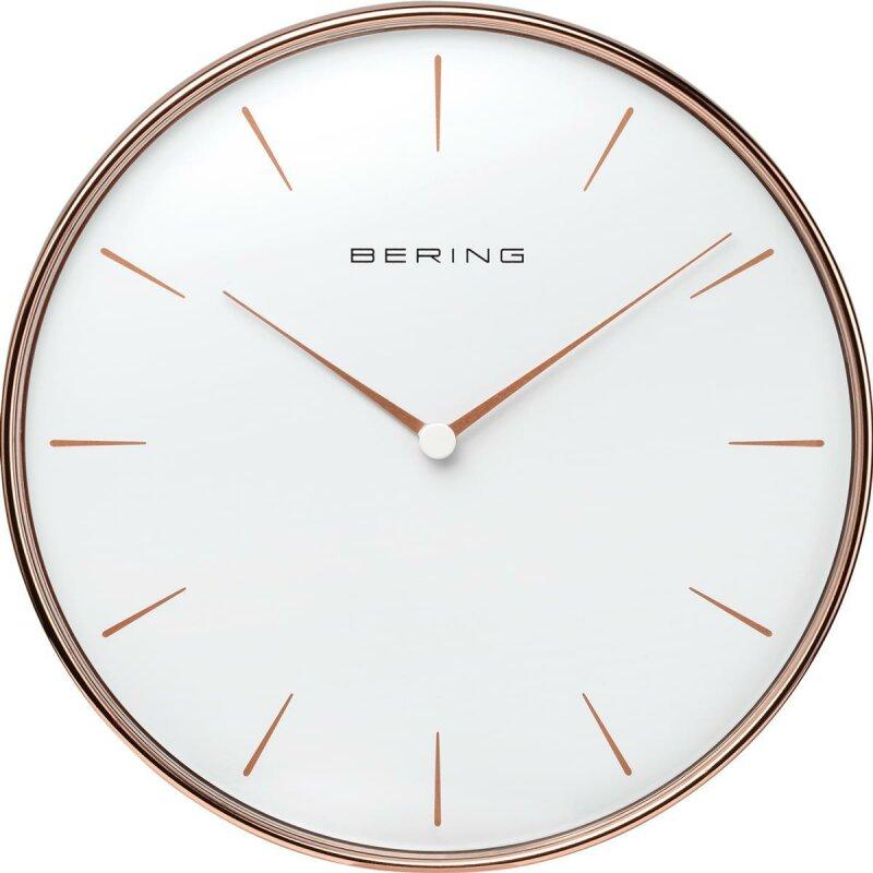 Bering Wanduhr roségold 90162-64R