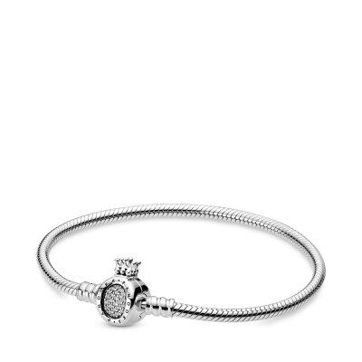 PANDORA Armband 598286CZ Crown O