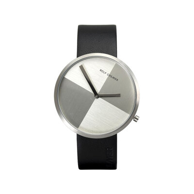 Rolf Cremer Slim 42 503606 Unisex Armbanduhr Schwarz