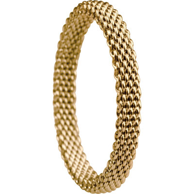 Bering Innenring 551-20-71 Milanaise gelbgold