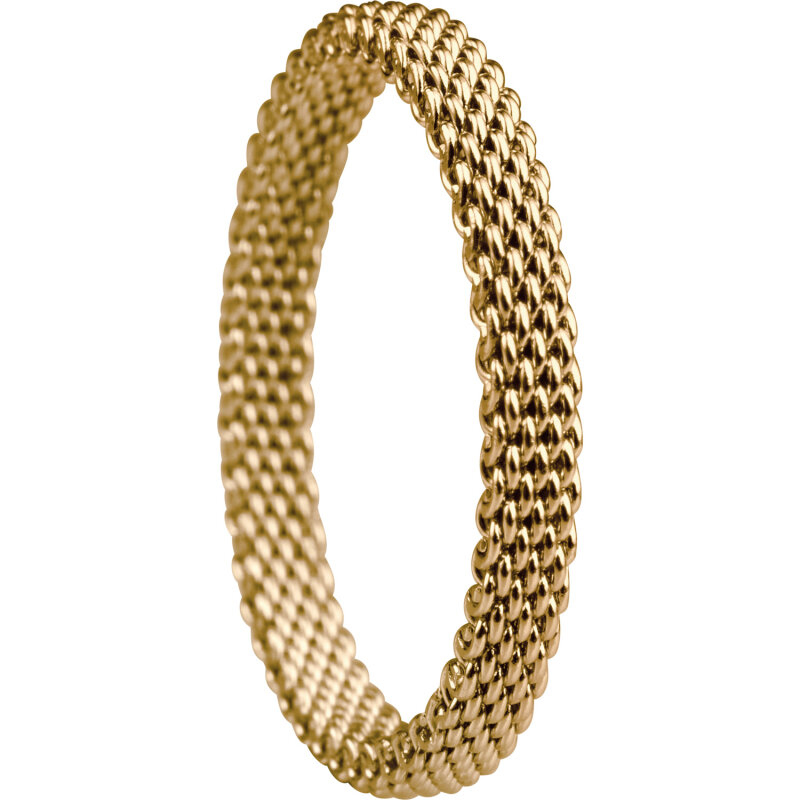 Bering Innenring 551-20-101 Milanaise gelbgold