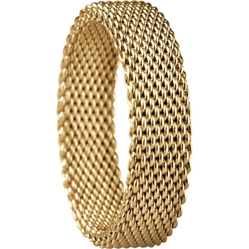 Bering Innenring 551-20-112 Milanaise gelbgold