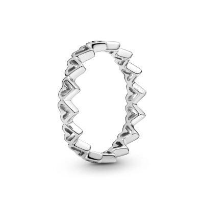 PANDORA Ring 198696C00 Freehand Herzen