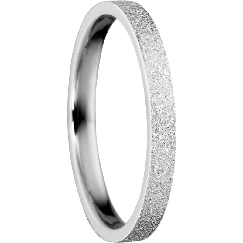 Biżuteria i Zegarki Pierścionki i obrączki Bering Außenring 527-19-X4 Stardust silber