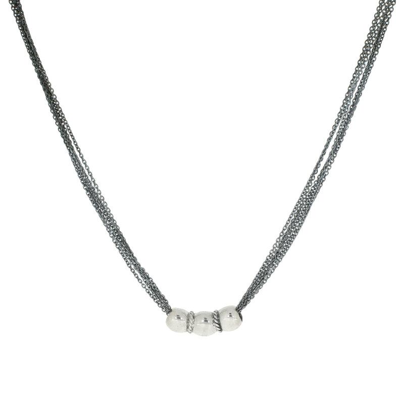 Kettler Collier mit Behang 925/- Sterlingsilber 18490