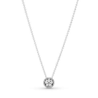 PANDORA Kette 399230C01-45 Sparkling Snowflake