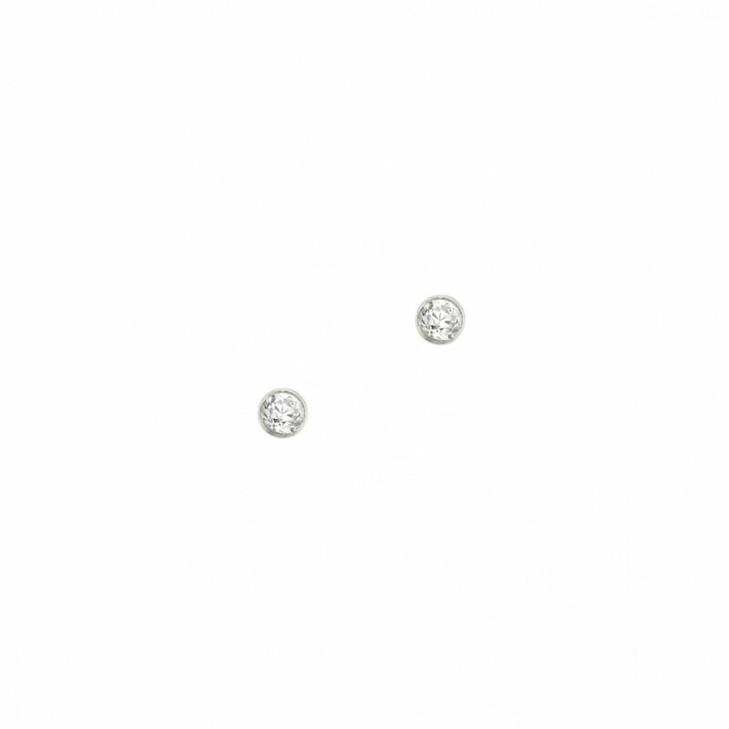 CEM Ohrstecker aus Sterlingsilber mit Zirkonia Größe ca. 2,5 mm 5-123702-001