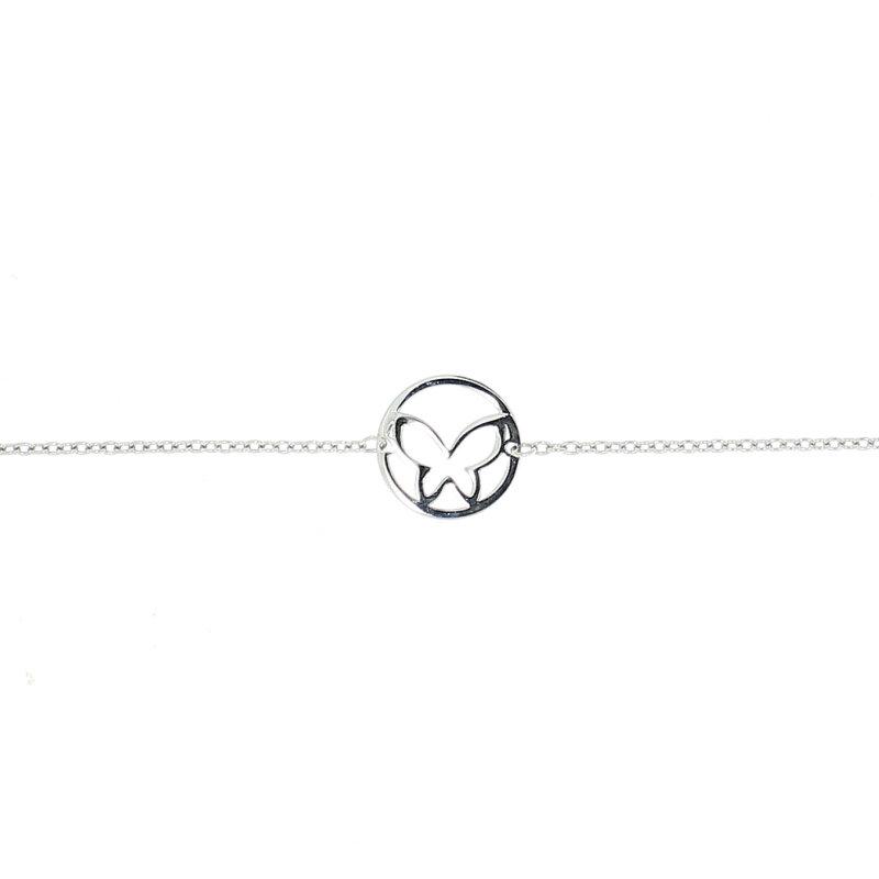 CEM Armband mit Schmetterling 925/- 5-209710-001