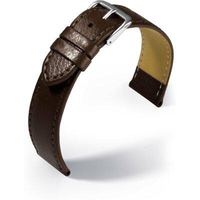 Eulit Lederband Kansas dunkelbraun 18 mm 350618272