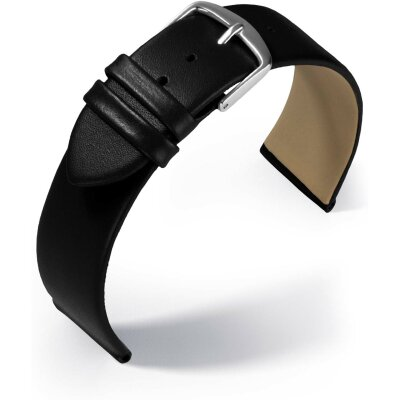 Eulit Lederband Dolly Schwarz 18 mm 8041618101