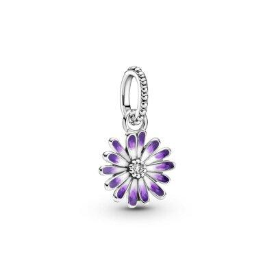 PANDORA Charm-Anhänger 798771C01 Purple Daisy Flower