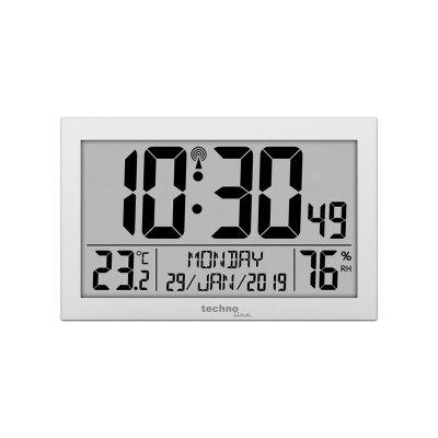 techno line Funkwanduhr Digital WS8016