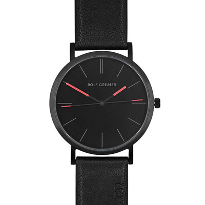 Rolf Cremer Twice 506401 Armbanduhr schwarz